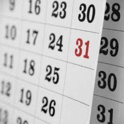 calendrier des missions