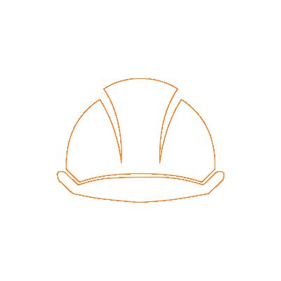 icone casque de chantier