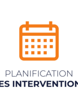 planification des interventions